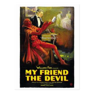 """""""My Friend the Devil"""" Postcard"""