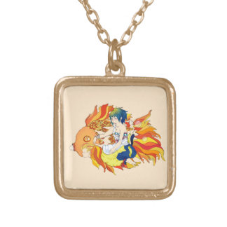 """My friend the fish"" Necklace"