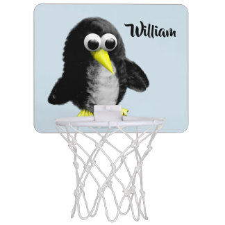 My friend the penguin mini basketball hoop