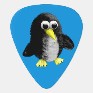 My friend the penguin plectrum