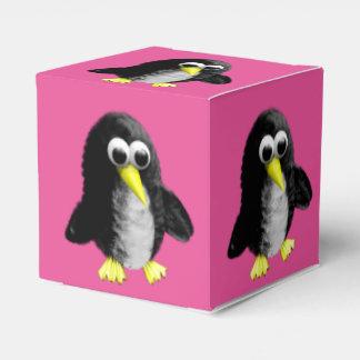 My friend the penguin wedding favour boxes