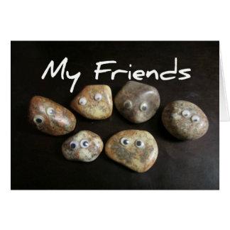 My Friends Are Rocks Card
