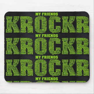 ***MY FRIENDS ROCK*** MOUSE PAD