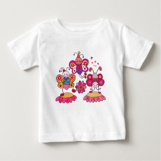 My Friends: The Butterflies Baby T-Shirt