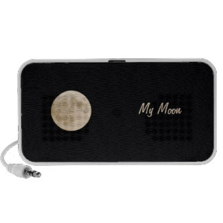 My Full Moon Doodle iPhone Speaker