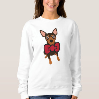 My Fur-Baby Miniature Pinscher Min Pin Sweatshirt