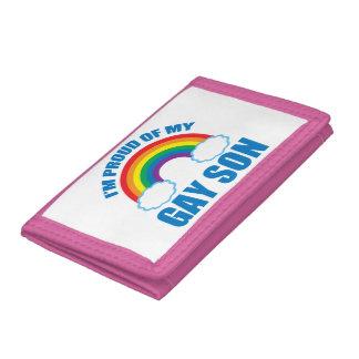 My Gay Son Tri-fold Wallet