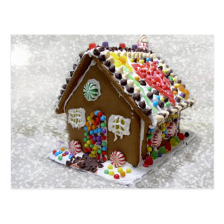 My Gingerbread House Postcard