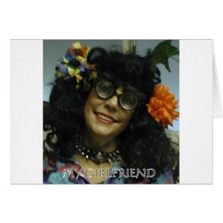 MY GIRL FRIEND GREETING CARD