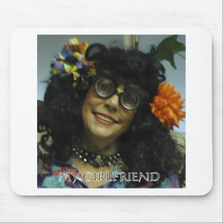 MY GIRL FRIEND MOUSE PAD
