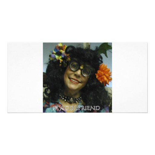 MY GIRL FRIEND PERSONALIZED PHOTO CARD