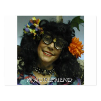 MY GIRL FRIEND POSTCARD
