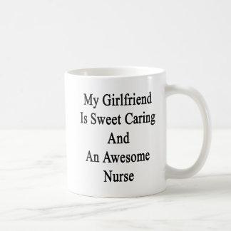 My Girlfriend Is Sweet Caring And An Awesome Nurse Coffee Mug