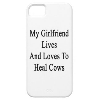 My Girlfriend Lives And Loves To Heal Cows iPhone 5 Case