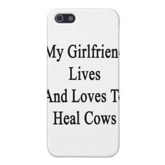 My Girlfriend Lives And Loves To Heal Cows iPhone 5 Cases