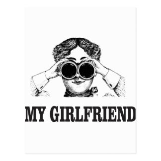 my girlfriend postcard