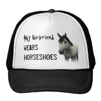 My Girlfriend Wears Horseshoes - Gray Cap