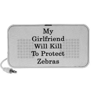 My Girlfriend Will Kill To Protect Zebras PC Speakers