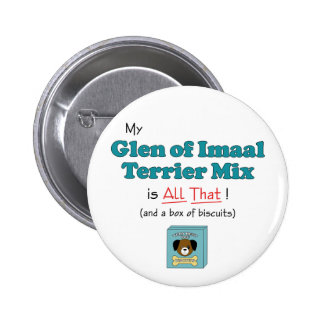 My Glen of Imaal Terrier Mix is All That Button