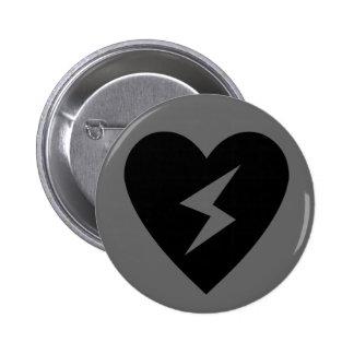 My Gloomy Valentine #2 Pinback Button