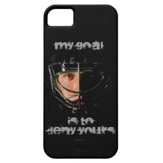 My Goal (Hockey Goalie) iPhone 5 Case
