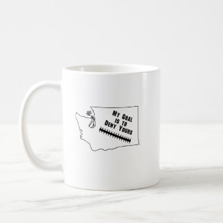 My Goal is to Deny Yours Soccer Men Women Boy Girl Coffee Mug