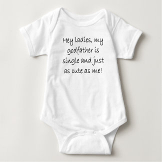 My Godfather Is Single Baby Bodysuit
