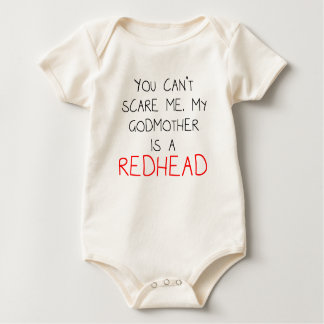 My Godmother Is A Redhead Baby Bodysuit