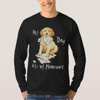 My Golden Ate My Homework T-Shirt