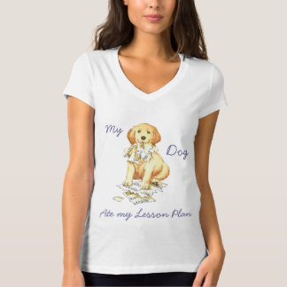 My Golden Ate My Lesson Plan T-Shirt