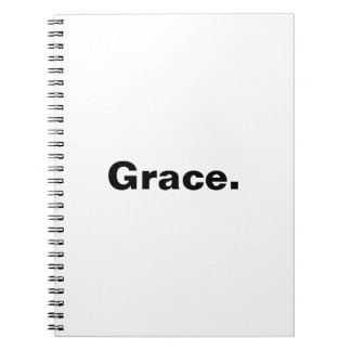Mygraceissufficient... Spiral Note Book