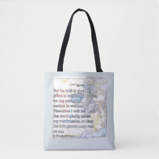 My Grace is Sufficient Tote Bag