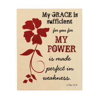 My Grace is Sufficient Wall Art