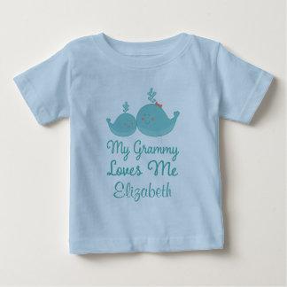My Grammy Loves Me grandchild T Shirt Gift