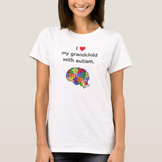 """My grandchild with autism"" t-shirt"