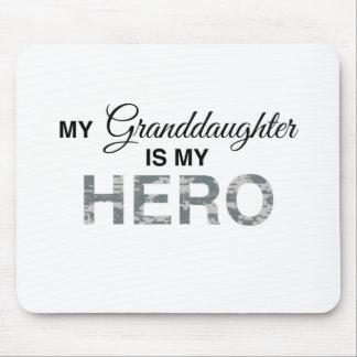 My Granddaughter is my Hero Digital Camouflage Mousepad