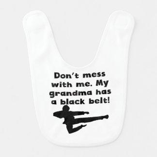 My Grandma Has A Black Belt Bib