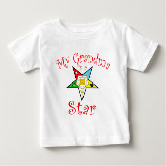 My Grandma is a Star Baby T-Shirt