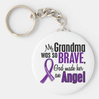 My Grandma Is An Angel Pancreatic Cancer Key Ring