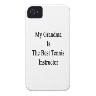 My Grandma Is The Best Tennis Instructor iPhone 4 Case-Mate Cases
