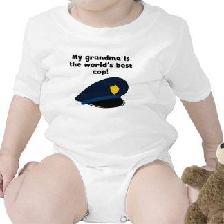 My Grandma Is The Word s Best Cop Baby Creeper
