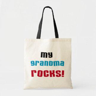 My Grandma Rocks T-shirts and Gifts Budget Tote Bag
