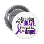 My Grandpa Is An Angel Pancreatic Cancer 6 Cm Round Badge