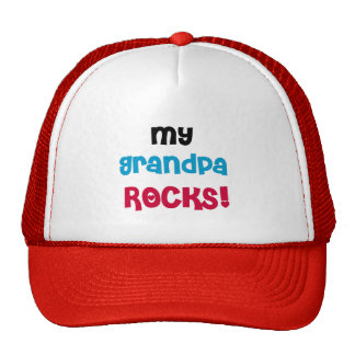 My Grandpa Rocks T-shirts and Gifts Cap