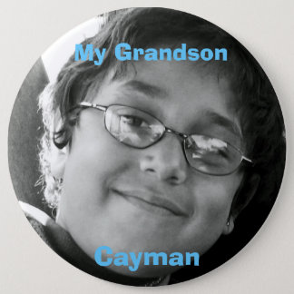 My Grandson, Cayman 6 Cm Round Badge