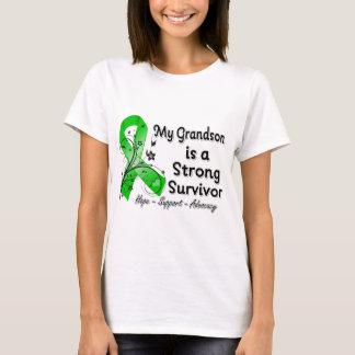 My Grandson is a Strong Survivor Green Ribbon T-Shirt