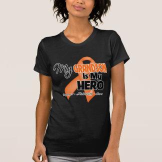 My Grandson is My Hero - Leukemia Shirt