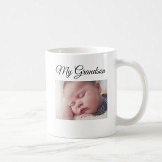 My Grandson Personalized Photo Coffee Mug