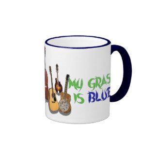 MY GRASS IS BLUE-MUG