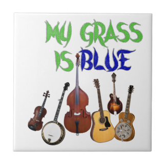 MY GRASS IS BLUE TILE